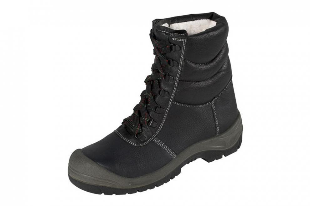 5320cc90ba1e Zimná kožená pracovná obuv Saalfeld S3